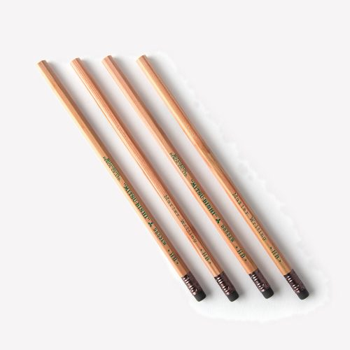ns-4-gray-mitsubishi-master-writing-pencils-hb-2